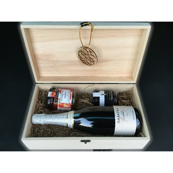 Dreamcatcher Collection - Natural Wooden Box