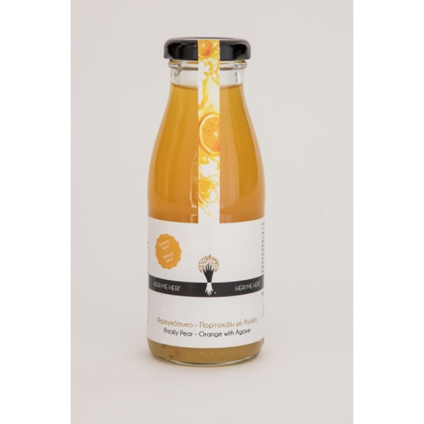 Prickly Pear- Orange with Agave