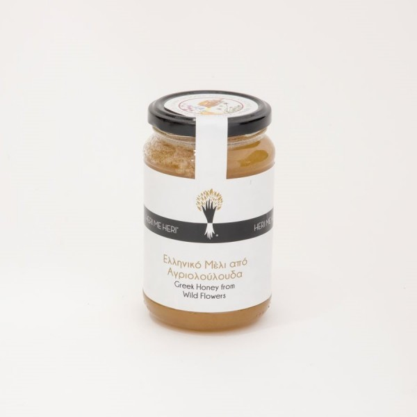 Greek Honey from Wild Flowers